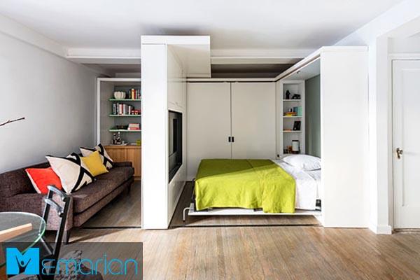 طراحی دکوراسیون داخلیاستودیو آپارتمان (2)