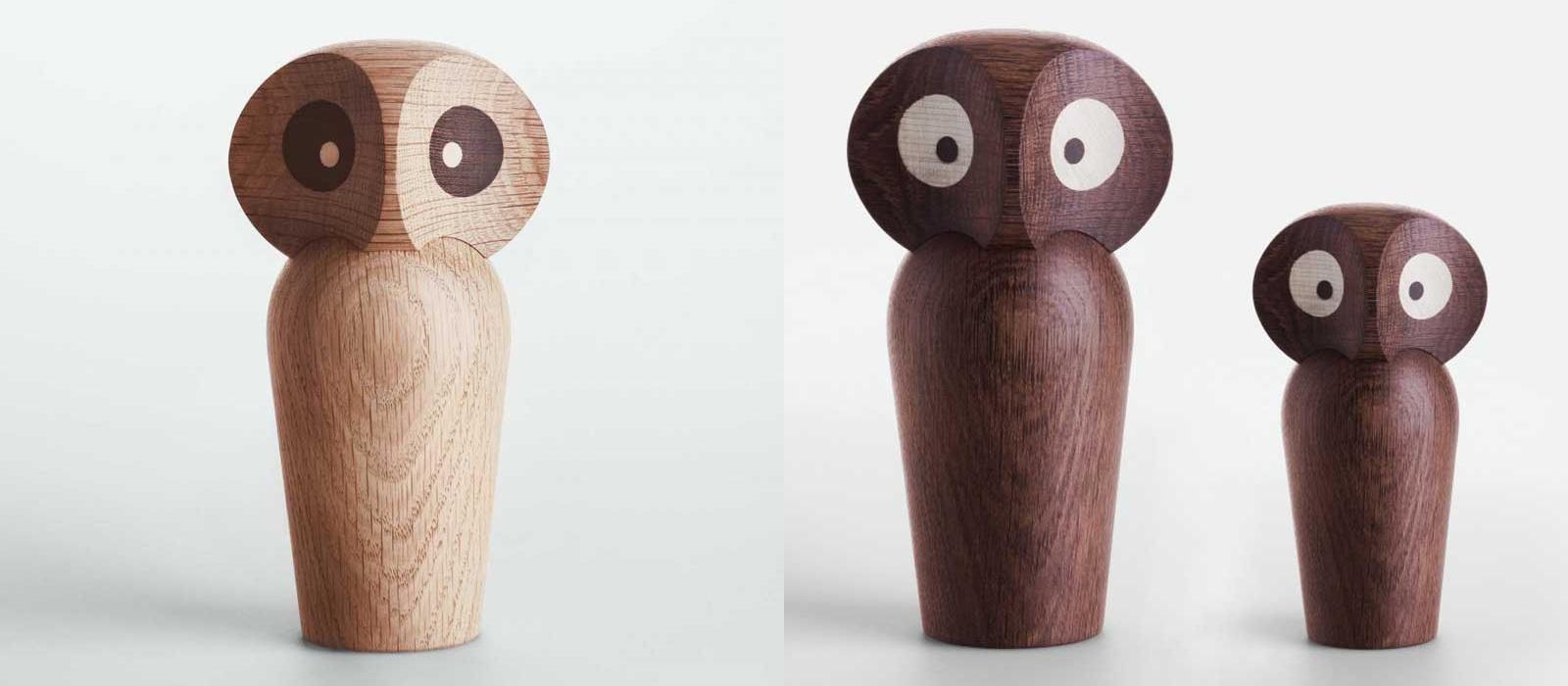 بررسی و خرید آنلاین مجسمه چوبی دکوری جغد کد NS218