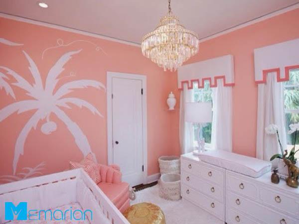 دیوارهایی به رنگ مرجانی