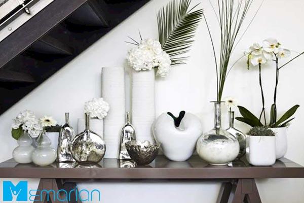 اکسسوری و کلکسیون در فضای داخلی خانه - نکات طلایی طراحی دکوراسیون