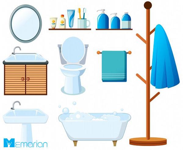 سرویس های بهداشتی در خانه تکانی