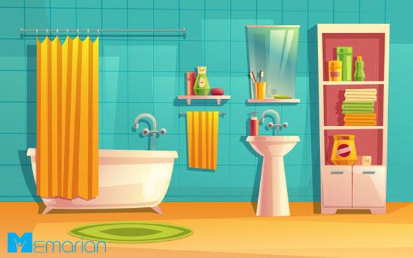حمام در خانه تکانی