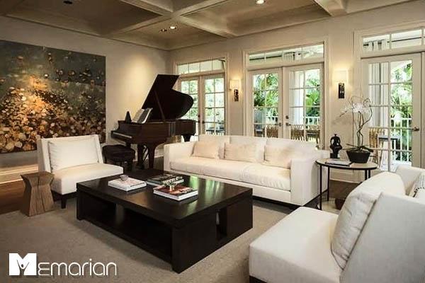 پیانو در دکوراسیون داخلی