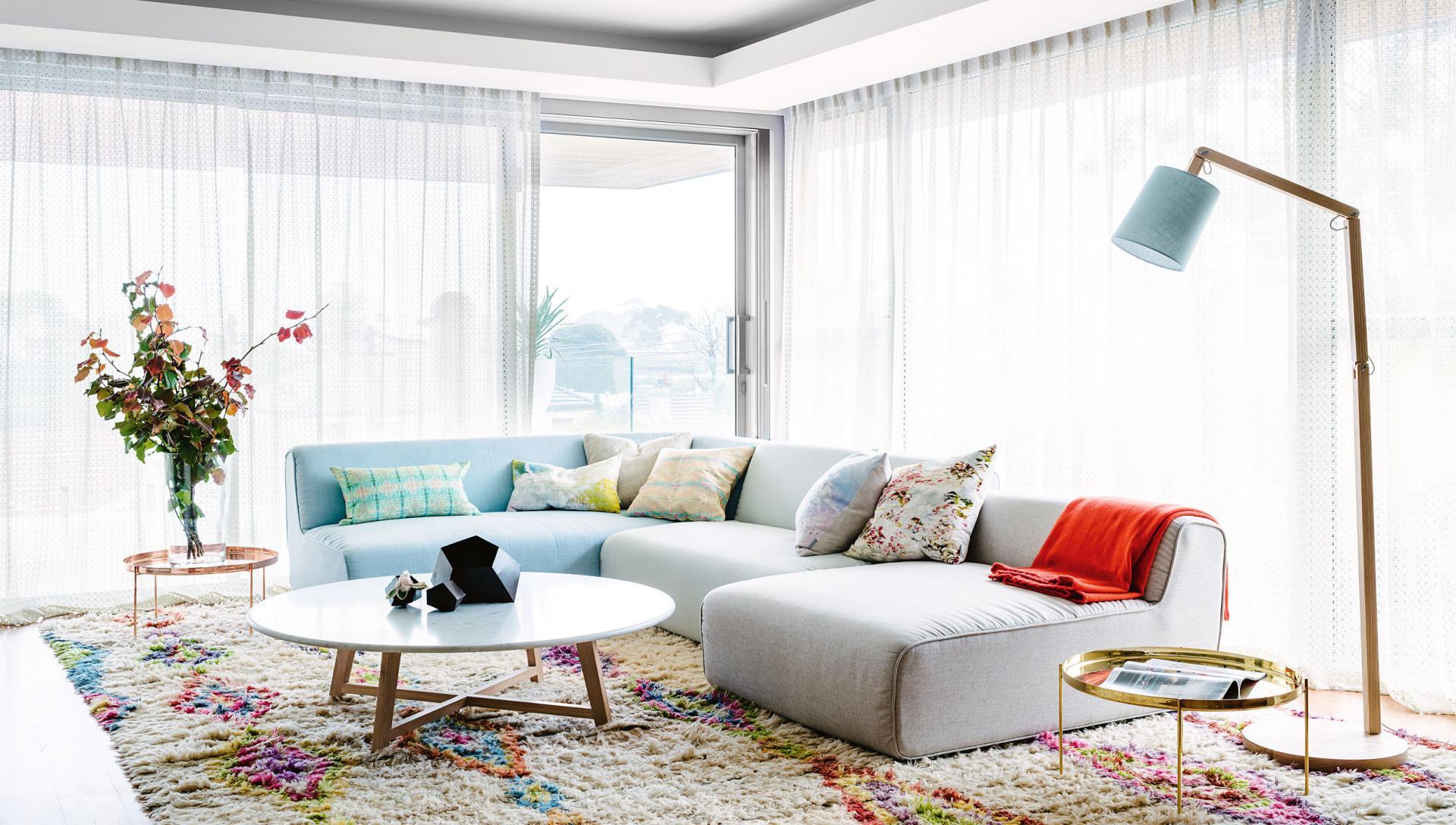 ست رنگ های شاد و هیجان انگیز در دکوراسیون خانه