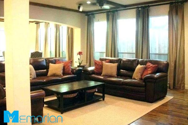 اهمیت ست کردن رنگ مبل و فرش و پرده چیست؟