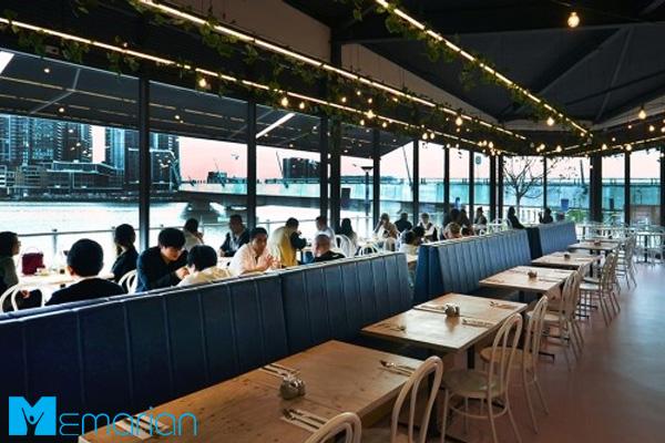 طراحی رستوران مدرن در شهر سیدنی استرالیا