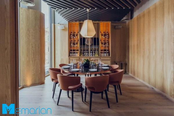 طراحی داخلی رستوران ژاپنی در کشور انگلستان