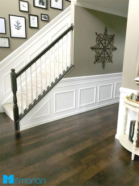 نوسازی ملزومات چوبی و اضافه کردن پوشش های چوبی در دکوراسیون - خانه لوکس