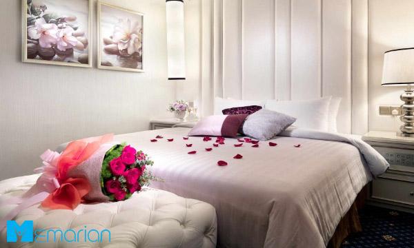 ایده ارزان و عاشقانه اتاق خواب عروس داماد