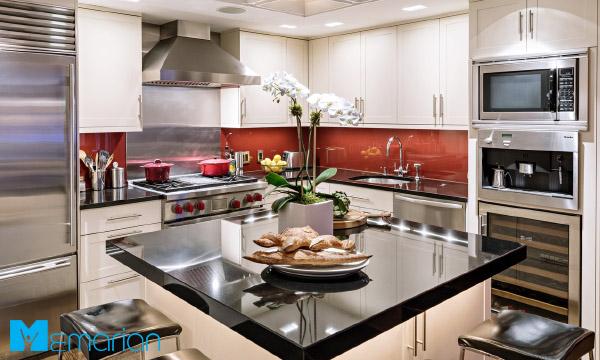 آشپزخانه ای به سبک اروپایی