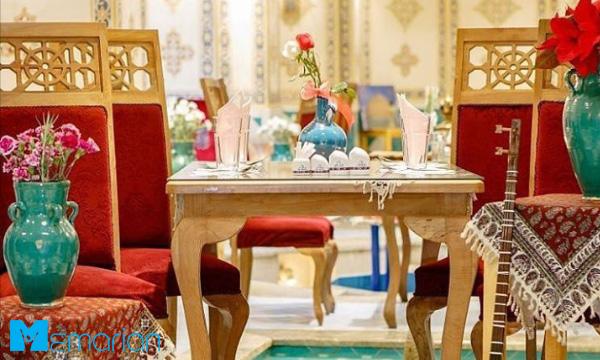 میز و صندلی ناهارخوری سنتی