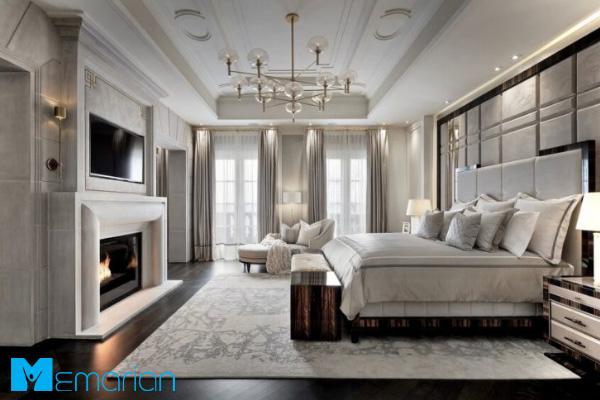 دکوراسیون اتاق خواب کلاسیک و سلطنتی