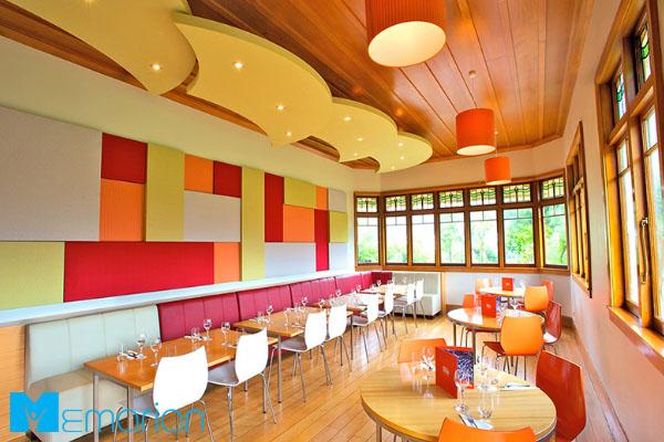 رنگ های مناسب دکوراسیون رستوران