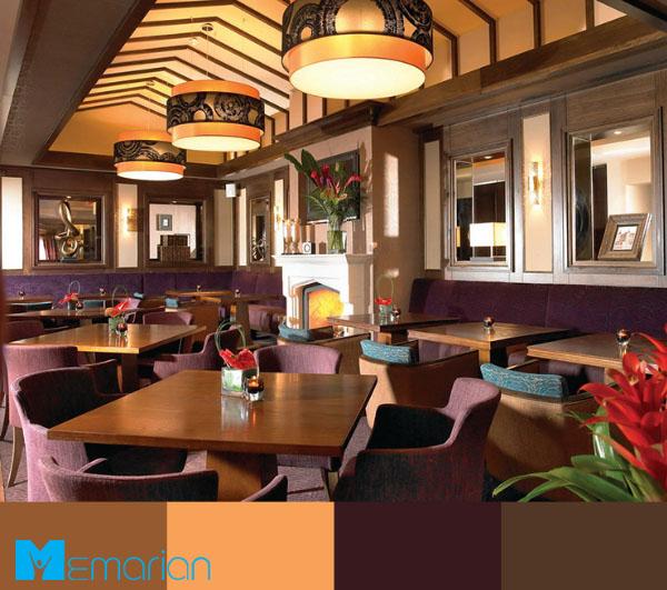 بهترین رنگ برای رستوران کدام است؟