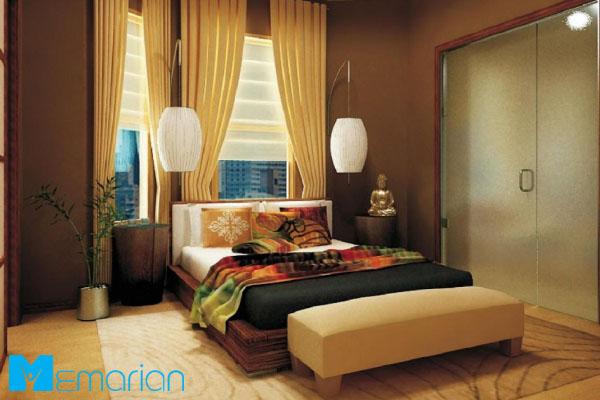 طراحی دکوراسیون اتاق خواب با اصول فنگ شویی
