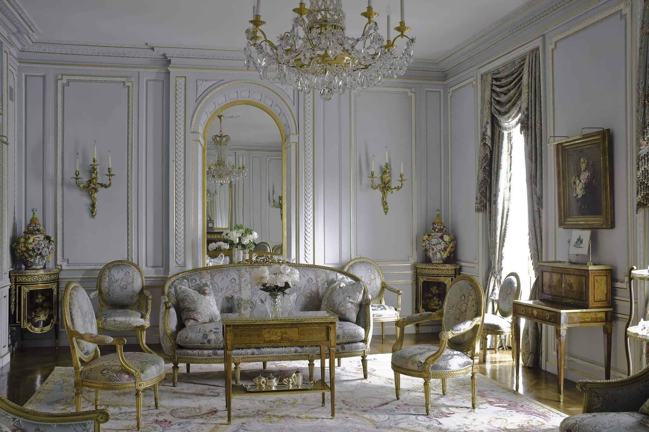 بررسی طراحی دکوراسیون داخلی به سبک فرانسوی