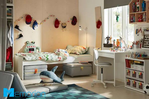 طراحی اتاق کودک با کمک ایده های مدرن 2019