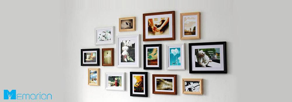 عکس های یادگاری روی فضای خالی دیوار