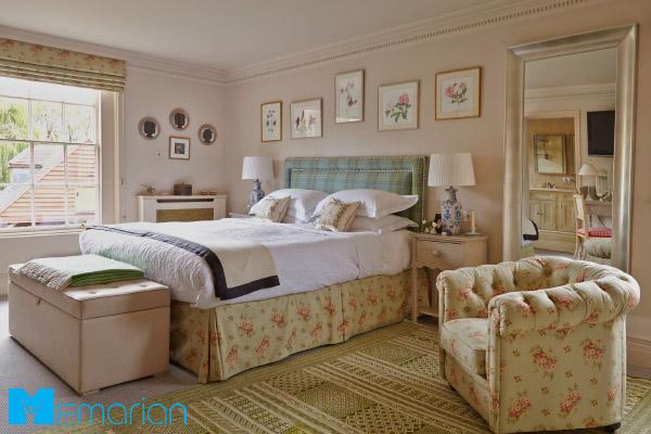 تزئین دیوار اتاق خواب به کمک ایده های مختلف
