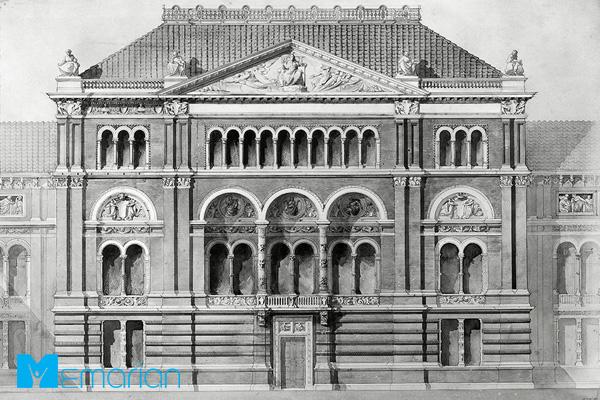 دوره معماری رومی