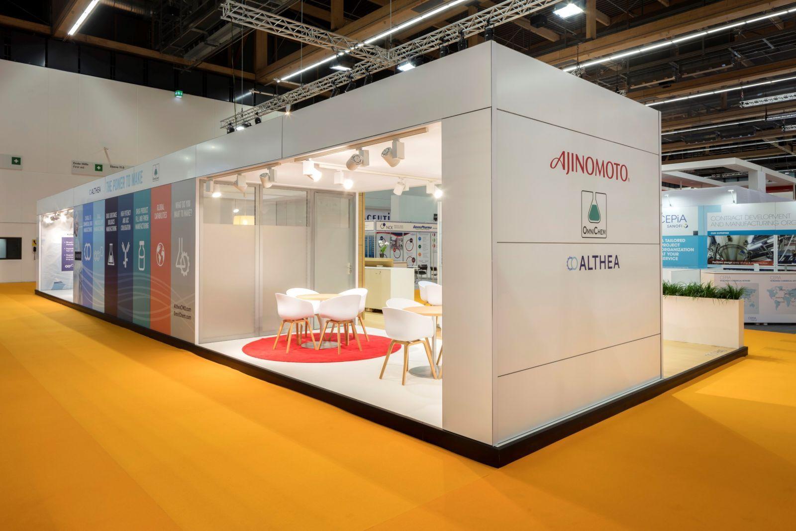 اصول ساخت و طراحی غرفه نمایشگاهی