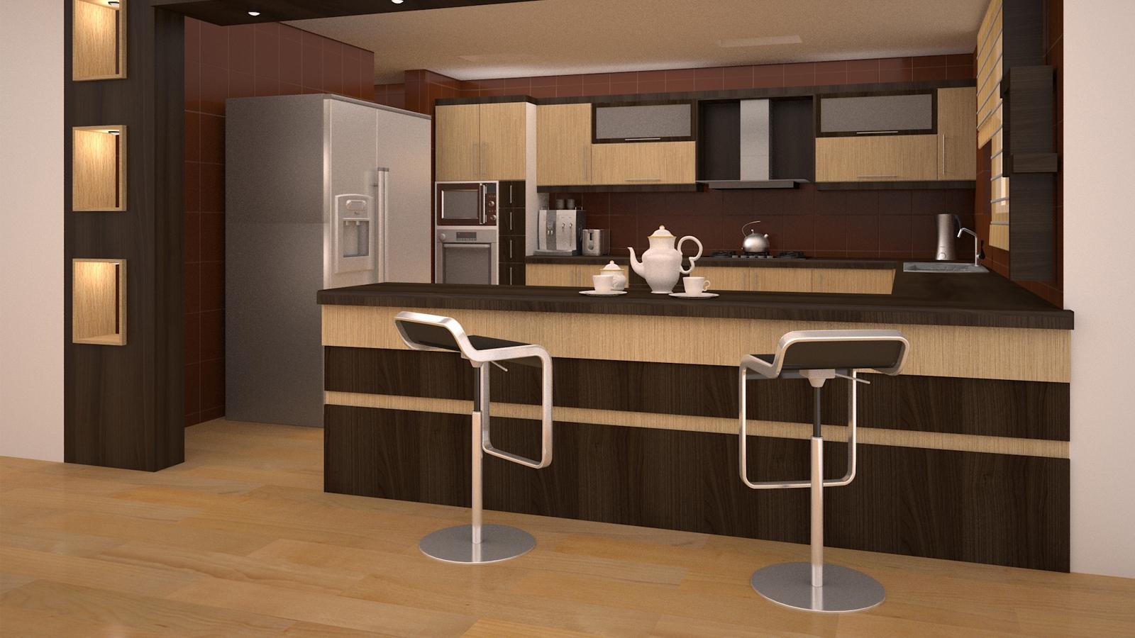 جدیدترین مدل های کابینت ام دی اف MDF در آشپزخانه