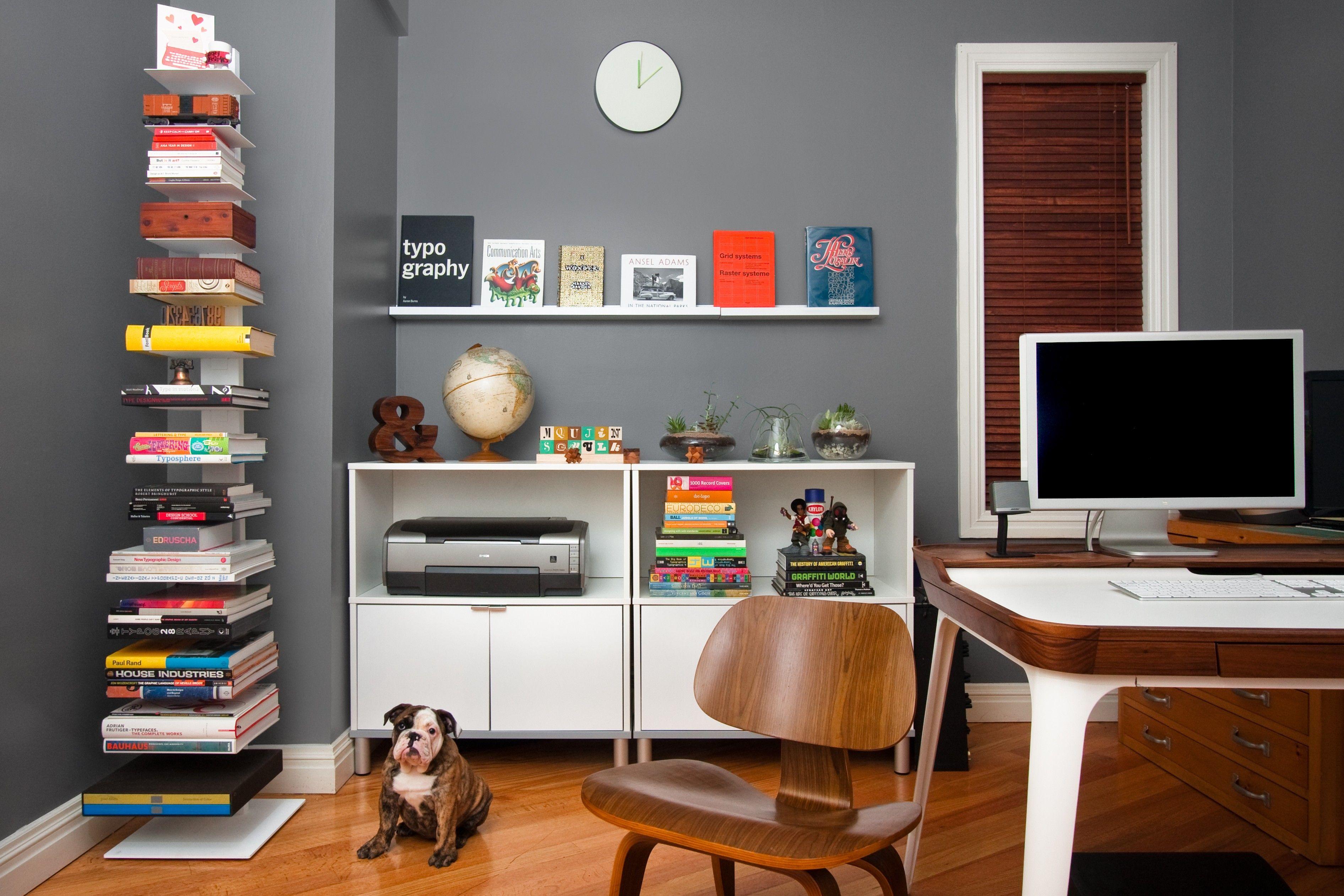 نکات مهم و تاثیرگذار در طراحی دکوراسیون اتاق مطالعه
