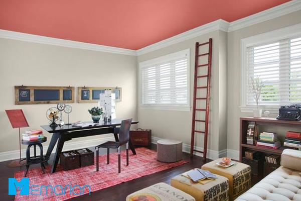 رنگ آمیزی دیوار و سقف