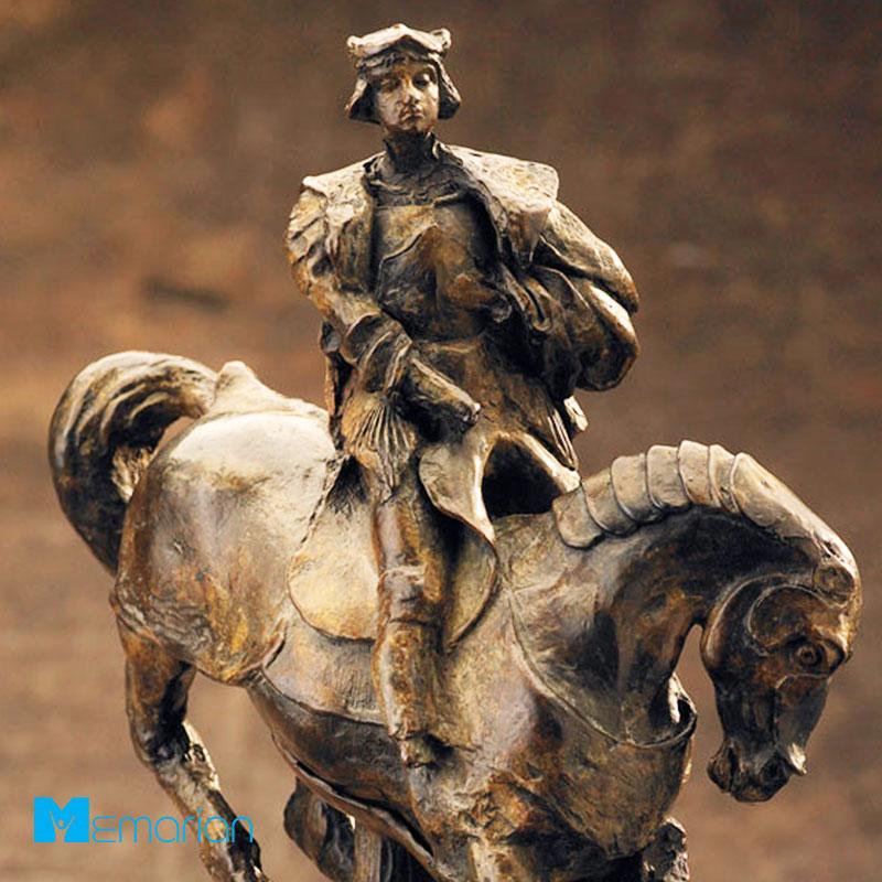 ساخت مجسمه توسط داوینچی