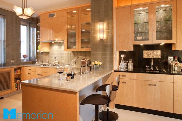 کابینت آشپزخانه به همراه بوفه های دکوری