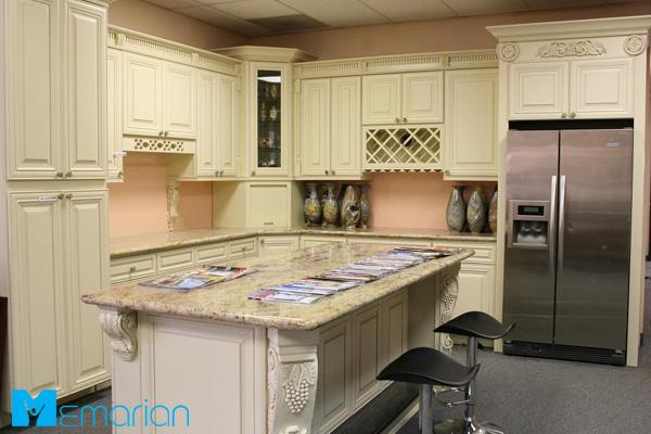 کابینت آشپزخانه مدرن با رنگ سفید