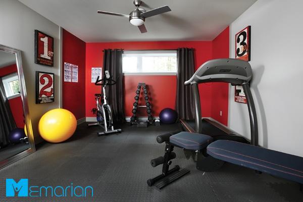 ایجاد فضایی آرامش بخش و انگیزشی در دکوراسیون سالن ورزشی