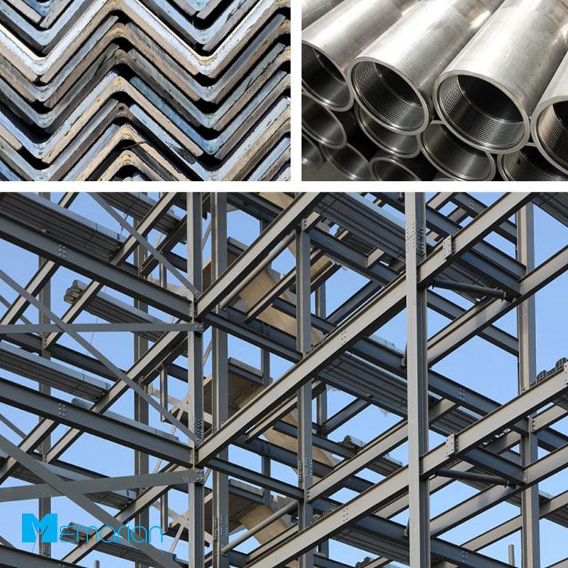 فلزات استفاده شونده در بازار ساخت و ساز