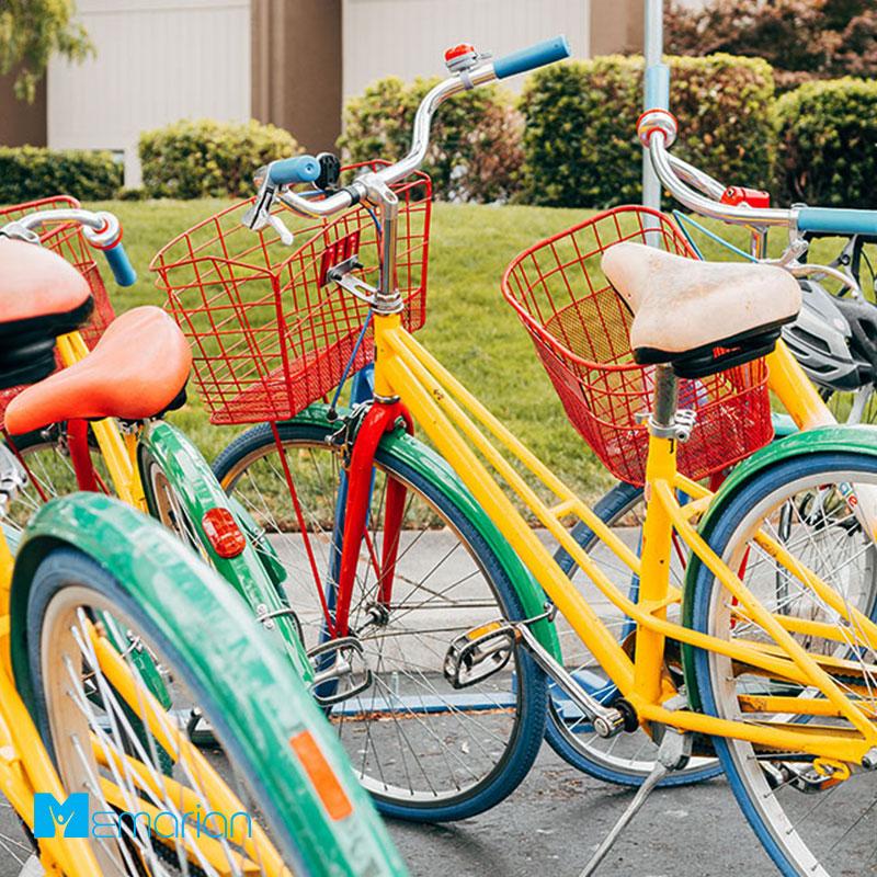 دوچرخه در دفترکار گوگل