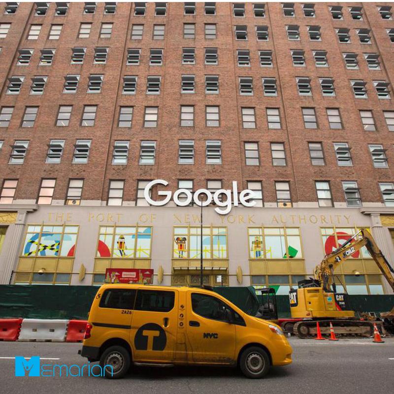 معماری شرکت گوگل در نیویورک