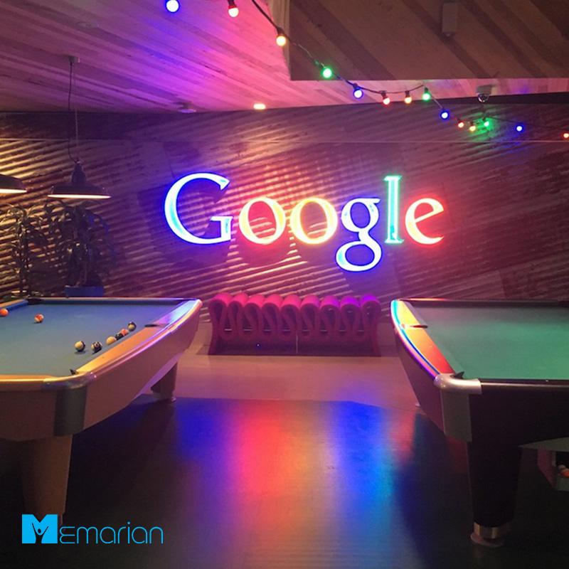 دکوراسیون شرکت گوگل در سیدنی