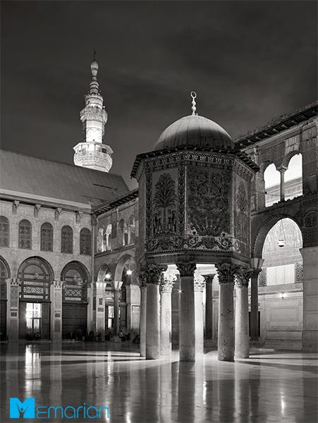 معماری اسلامی مسجد اموی (دمشق، سوریه)