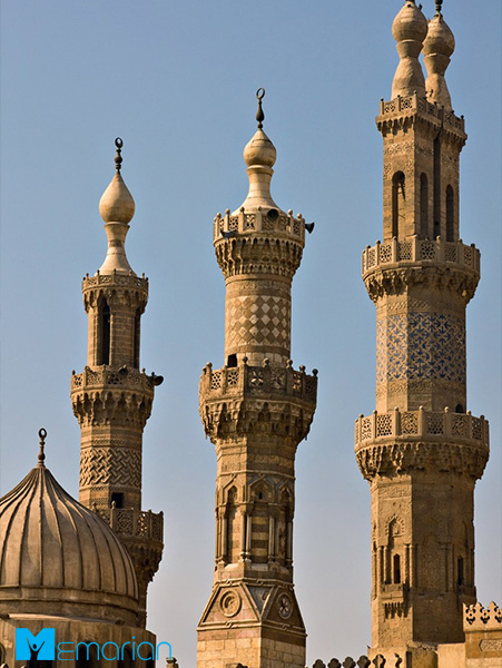 معماری مسجد الازهر (قاهره)