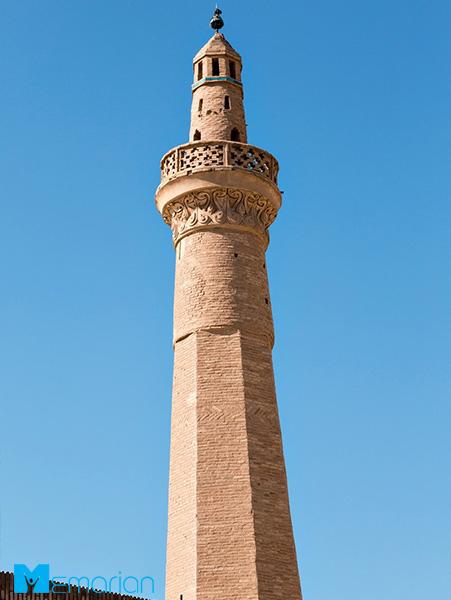 معماری اسلامی مسجد جامع نایین (نایین، ایران)