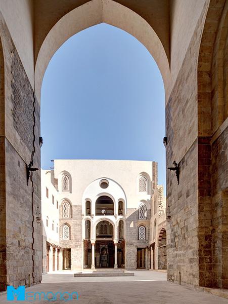 معماری اسلامی مجتمع قالاوون (قاهره)