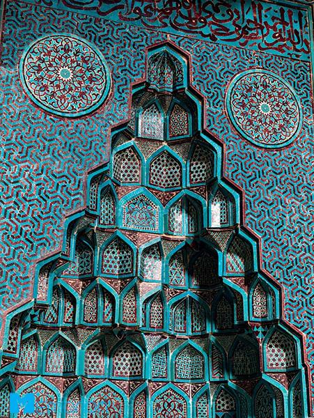 معماری مسجد اشرف اوغلو (بی شهر، ترکیه)