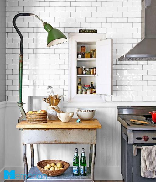نورپردازی گیره ی خوش آمد گویی در چیدمانآشپزخانه