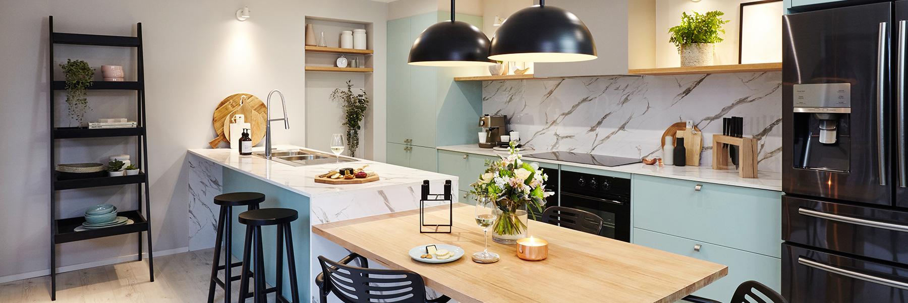 ایده های جذاب برای روشنایی آشپزخانه