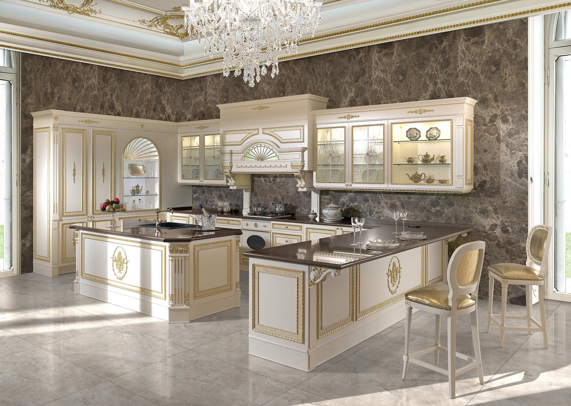 نکات طلایی در چیدمان آشپزخانه لاکچری و مدرن