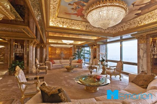 فضای داخلی خانه دونالد ترامپ