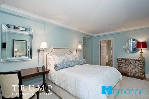 اتاق خواب خانه ایوانکا ترامپ