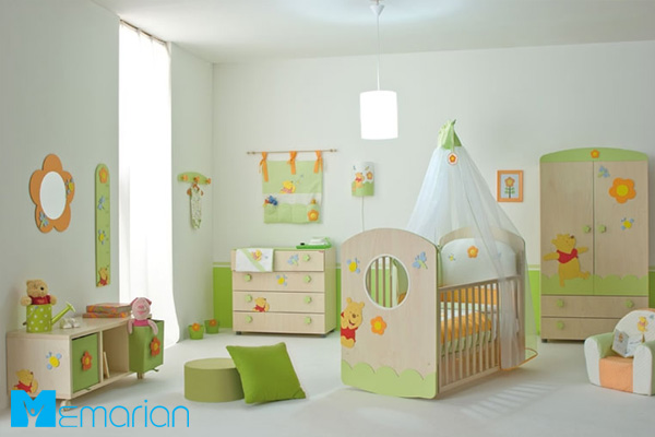 چیدمان اتاق کودک و نوزاد ایرانی 98