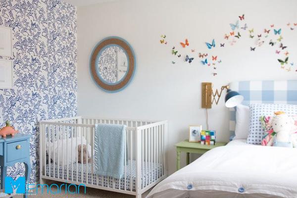 تزئین اتاق کودک با ایده های خلاقانه 2019