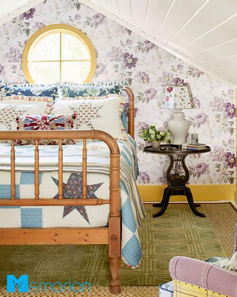 ساماندهی اتاق خواب به کمک الگو های رنگارنگ