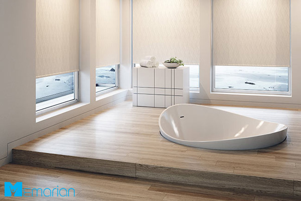 حمام مدرن در سبک مینیمال 2019